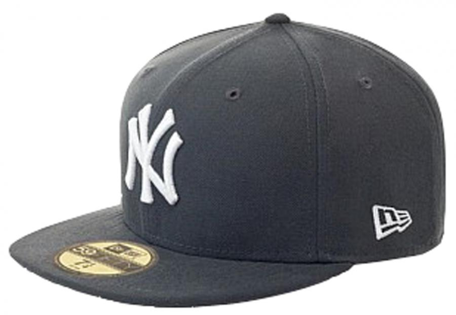 new era 59fifty mlb basic new york yankeesfitted basecap. Black Bedroom Furniture Sets. Home Design Ideas
