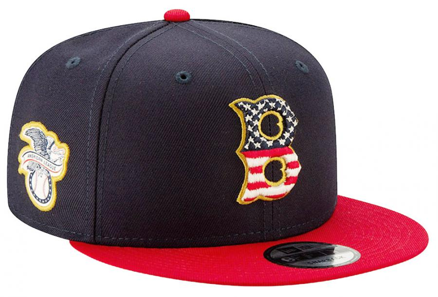 New Era Boston Red Sox 4th of July SE19 Navy MLB Snapback