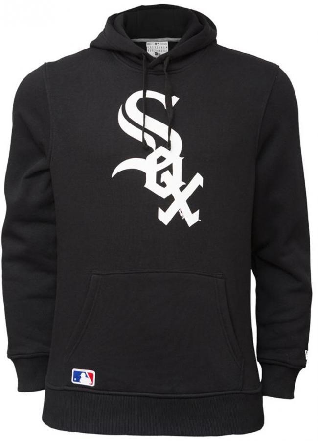 b5b35633a58 New Era Chicago White Sox Hoody Black Sweater Hoodie Men -  www.hiphopgermany.de