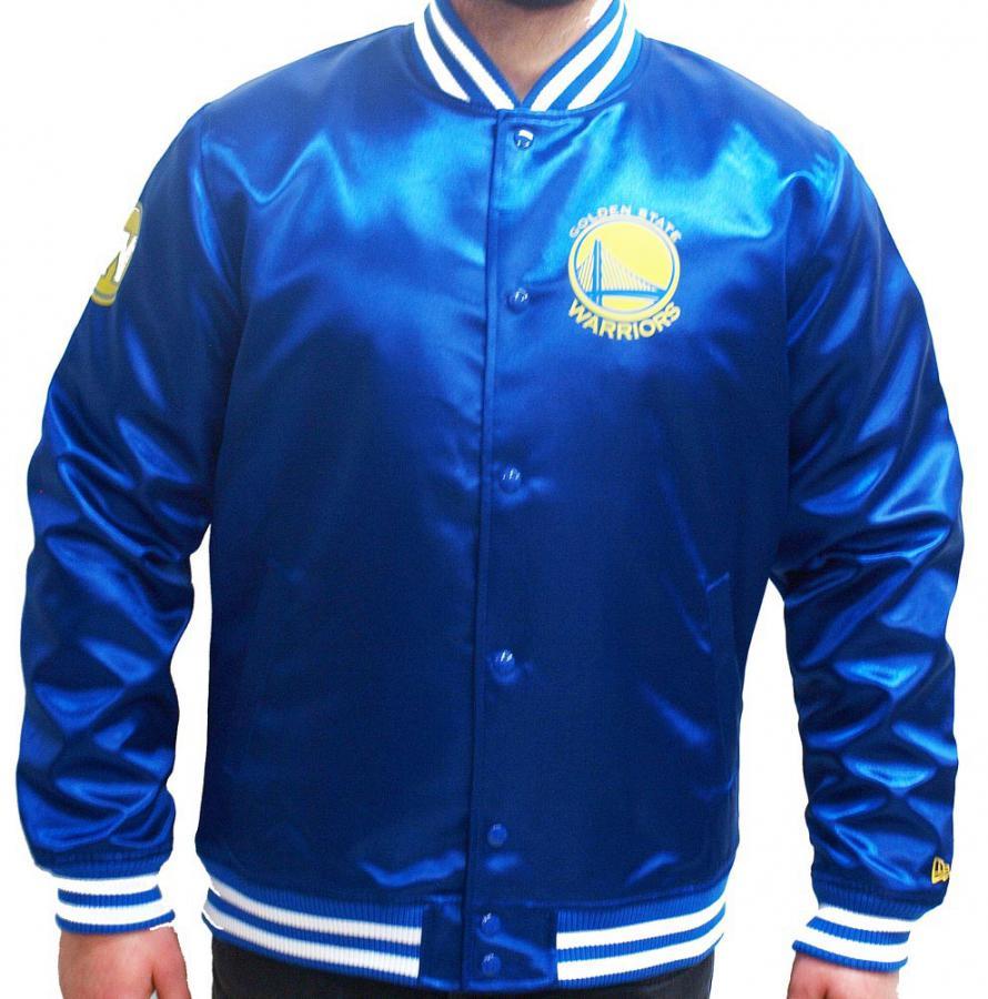 a63ebecc9 New Era Golden State Warriors NBA Tip Off Sateen Bomber College Jacket  Jacke - www.hiphopgermany.de