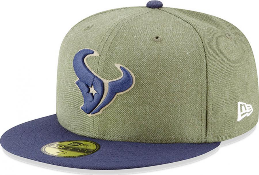 9c340d60a New Era Houston Texans On Field 18 Salute To Service Cap 59fifty 5950 Fitted  Limited Edition - www.hiphopgermany.de