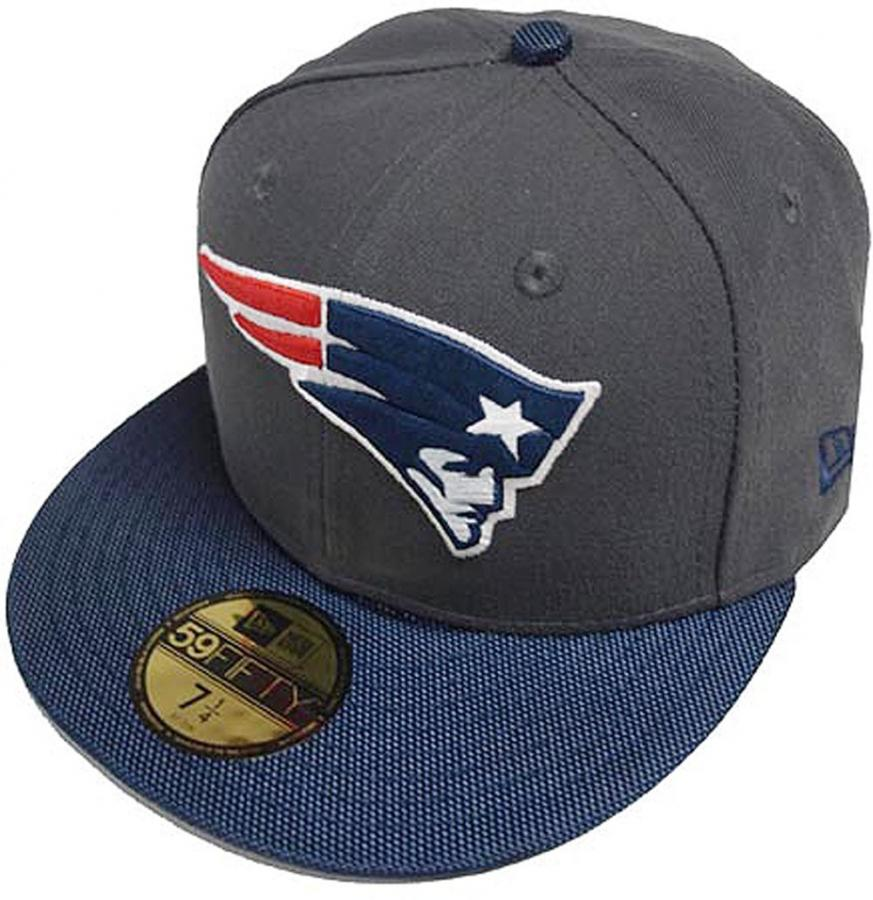 New Era Nfl New England Patriots Ballistic Visor Cap 59fifty Fitted