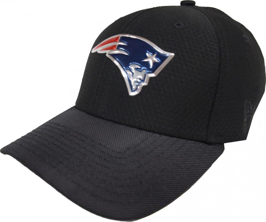 New Era New England Patriots Nfl Black Collection Stretch Fit Cap
