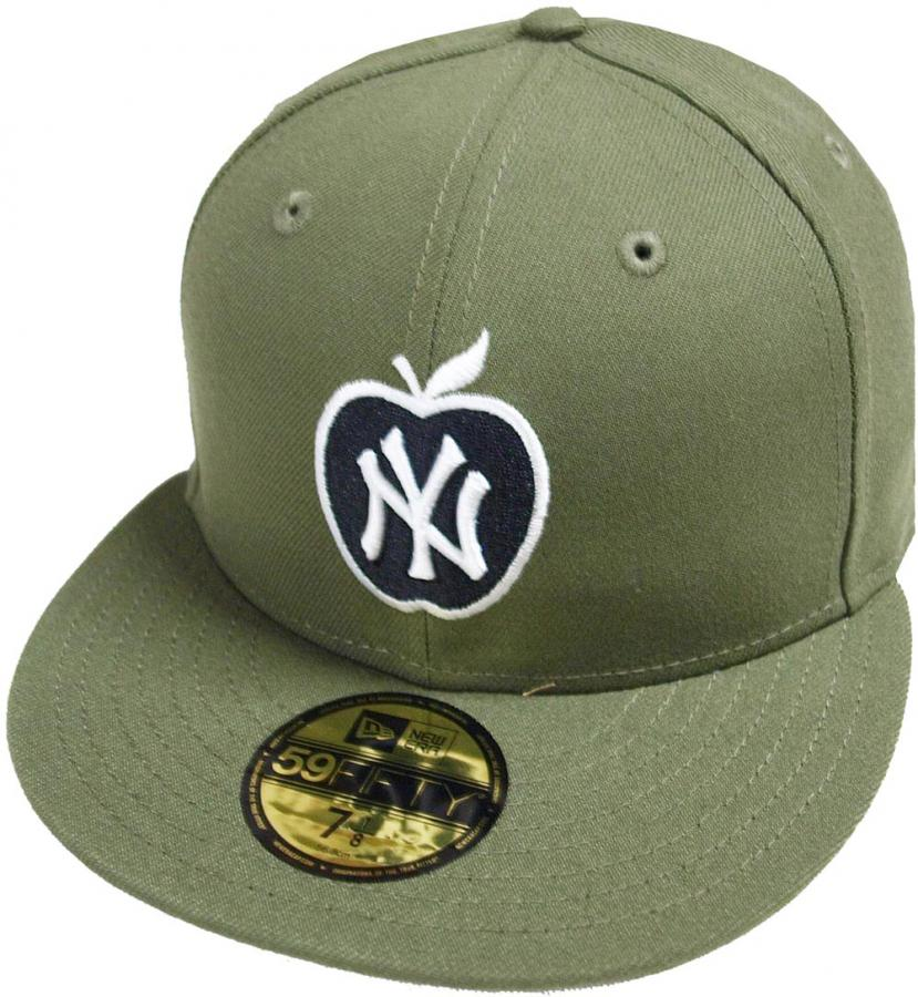 new era new york yankees big apple oliv green mlb cap. Black Bedroom Furniture Sets. Home Design Ideas