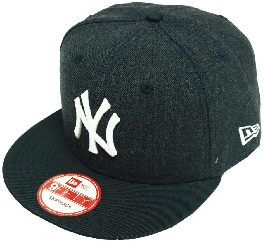 new era new york yankees fresh snapback navy mlb cap kappe. Black Bedroom Furniture Sets. Home Design Ideas