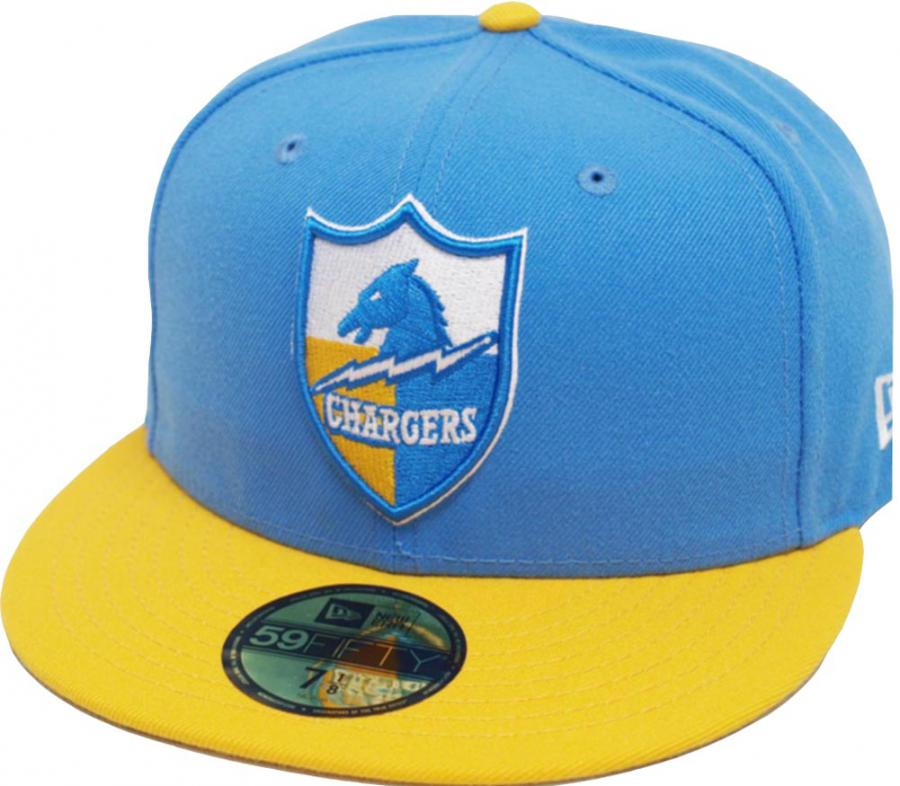 San Diego Chargers Blue: New Era San Diego Chargers Blue Yellow 2 Tone Classic Logo