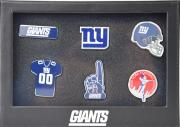 Forever Collectibles New York Giants 6 Piece Pin Badge Set Anstecker NFL