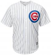 Majestic Athletic Chicago Cubs Cool Base MLB Replica Jersey White Baseball Trikot Tee T-Shirt