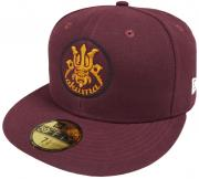 New Era Akuma Devil Maroon Cap 59fifty 5950 Fitted Basecap Kappe Exclusive Limited Edition