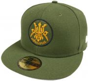 New Era Akuma Devil Olive Cap 59fifty 5950 Fitted Basecap Kappe Exclusive Limited Edition