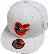 New Era Baltimore Orioles Heather Grey MLB Snapback Cap 9fifty Limited Edition