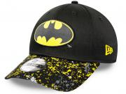 New Era Batman Kids Character Splatter Visor 9Forty Snapback Cap Toddler Kleinkind