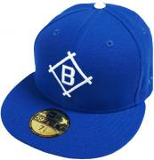 New Era Brooklyn Dodgers Dark Royal Cooperstown MLB Cap 59fifty 5950 Fitted Basecap Kappe Men Special Limited Edition