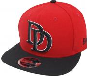 New Era Dare Devil Snapback Cap Red Black 9fifty 950 OSFA Basecap limited edition