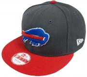New Era NFL Buffalo Bills Graphite Snapback Cap S M 9fifty Limited Edition