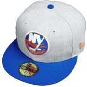 New Era New York Islanders Heather Cap 59fifty 5950 Fitted Limited Edition NHL