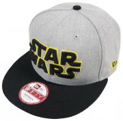 New Era Star Wars EMEA Heather Grey Snapback Cap M L 9fifty Special Limited Edition