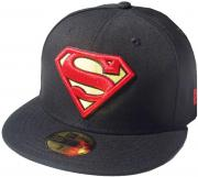 New Era Superman Black Red Yellow 59fifty 5950 Fitted Cap DC Comics Kappe Limited Edition