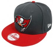 New Era Tampa Bay Buccaneers Graphite Snapback Cap S M 9fifty Limited Edition