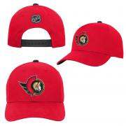 OuterStuff Ottawa Senators Youth Precurved Snapback Cap Curved Visor Teenager Size