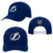 OuterStuff Tampa Bay Lightning Youth Precurved Snapback Cap Curved Visor Teenager Size
