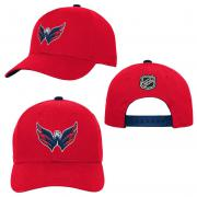 OuterStuff Washington Capitals Youth Precurved Snapback Cap Curved Visor Teenager Size