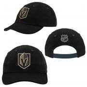 Outerstuff Las Vegas Golden Knights NHL Inflant Slouch Infant Baby Curved Visor Cap