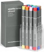 Stylefile Grafikmarker Allround 12er Main B Set  Box Grafik Marker Pens Stift